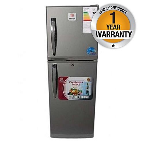 MRDCD70DS - Refrigerator, Double Door, 7Cu.Ft, 108 Litres - Silver