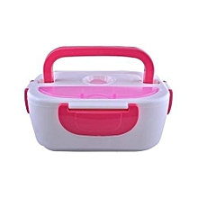 Effective Electric Lunch Box - Pink & White