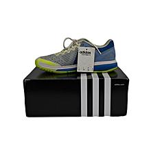 H/Ball Shoes Court Stabil 13 Men- Aq6121white/Grey/Blue- 5