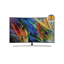 "QA55Q7CAMKXKE - 55"" - Smart Curved QLED TV - Black"