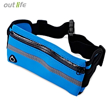 Outlife Water Resistant Anti-theft Marathon Belt Pack - Deep Blue