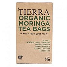 Organic Moringa Tea Bags - 25 Satchets