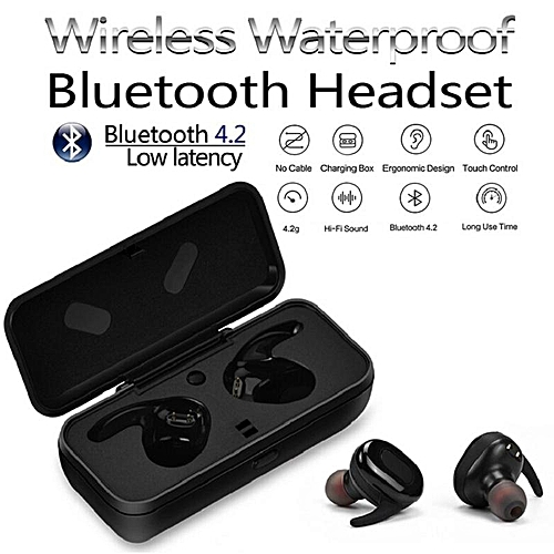 62a024bdedf Generic Letu X26 Tws Wireless Bluetooth Headset Mini Stereo Bluetooth  Earphones Stereo Earbuds With Mic Charging Box Bluetooth Headsets In-ear  Waterproof ...