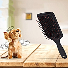 Pet Cat Dog Hair Deshedding Comb Grooming Brush Rakes Tool black