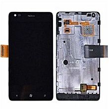 Lcd Screen Complete Screen Lcd Display Touch Screen Replacement Parts  Black For Nokia Lumia 900