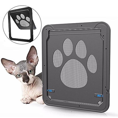 Universal 37x42cm Large Medium Dog Cat Pet Door Screen Window Abs