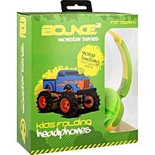 Kiddies Monster Truck Headphones.