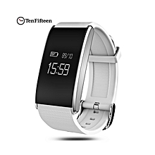 A58 - Blood Oxygen Measure Fatigue Smart Bracelet - White