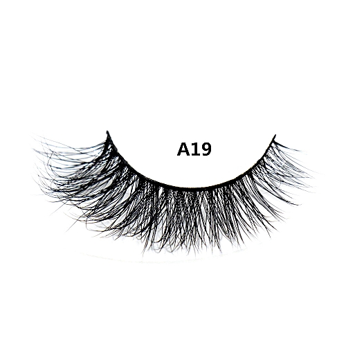 9a77b986884 Generic 3D Mink eyeMessy Cross Thick Natural Fake Eye Lashes Professional  Makeup Bigeye Eye Lashes Handmade 1pair False Eyelashes(A19)