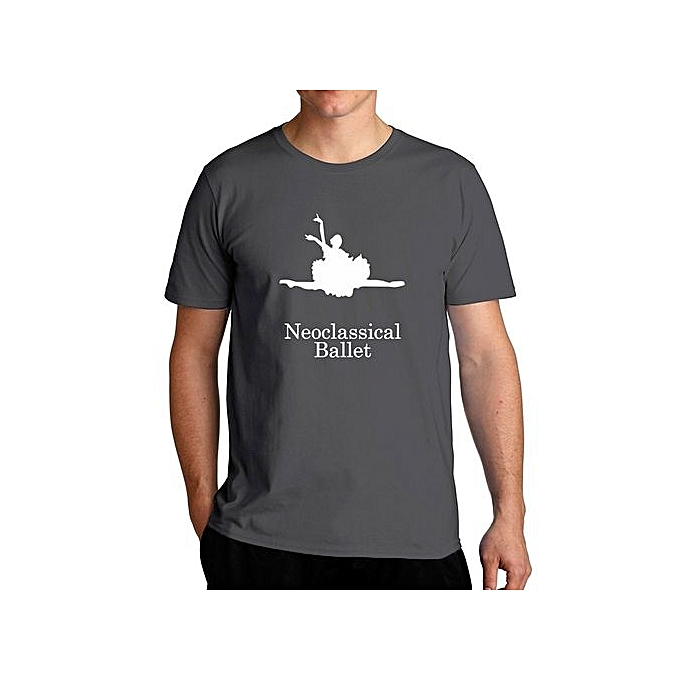 8bfe85881 Fashion Neoclassical Ballet Silhouette Cool Fashion T-Shirt For Men ...