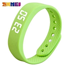 smart wristband led women smart watch pedometer calorie time date red black wristwatches silicone bracelet clock