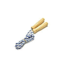 Skipping Rope With Wood Handle