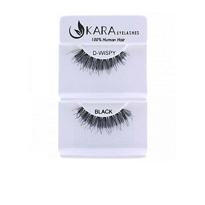 Buy Kara Beauty Kara False Strip Eyelashes D Wispy Best Price