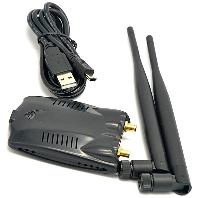 AR9271 802 11n 150Mbps Wireless USB WiFi Adapter + 2x 6dBi WiFi Antenna for  Windows 7/8/10/Kali Linux/Roland Piano(with 2x 6dBi Antenna)