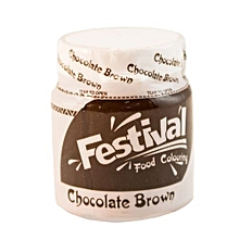 Food Colour Choc Brown 10g