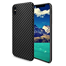 Delicate Shadow Series Protective TPU Case Elegant for iPhone X - Black