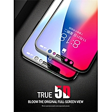 iPhone X/8/8Plus/7/7Plus/6S/6S Plus/6/6Plus Screen Protector HD 5D Curved Edge Tempered Glass Screen Protector    IPHONE7 PLUS    black