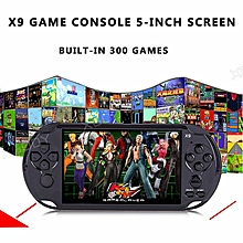 "5.0"" 32 Bit Handheld Video Game Console X9 8GB 500 Free Games Best Kid Gifts"