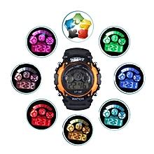 Boy Girl Alarm Date Digital Multifunction Sport LED Light Wrist Watch OR