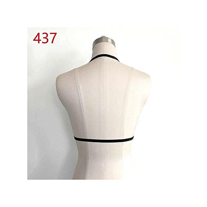 9a57da9c4b2 Sexy Bralette Womens Harness Bra Elastic Cage Bra Strappy Hollow Out Bra  Bustier (437 )