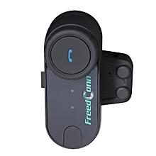 800M Intercom Headset Interphone Bluetooth Motorbike Motorcycle Helmet Black