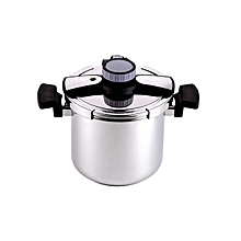 Royalford RF7605 - Pressure Cooker-7L -304S/S - Silver