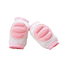 Infant Toddler Baby Knee Pad Crawling Safety Protector (A PAIR) - Pink