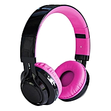 Hiamok_Wireless Bluetooth LED Stereo Headphone Headset Foldable Heavy Bass FM TF HOT