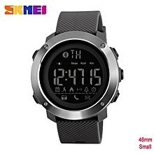 Skmei Fashion Bluetooth Smart Men Watches Calorie Digital Sports Pedometer LED Watch Call Reminder Waterproof Wristwatch
