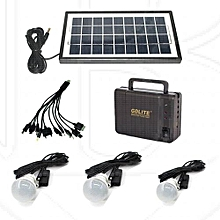 GD-8006 Solar Kit with LED Lights and Phone Multi Charger