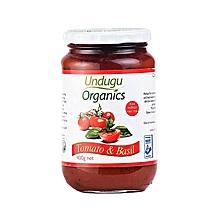 Tomato And Basil Organic Sauce