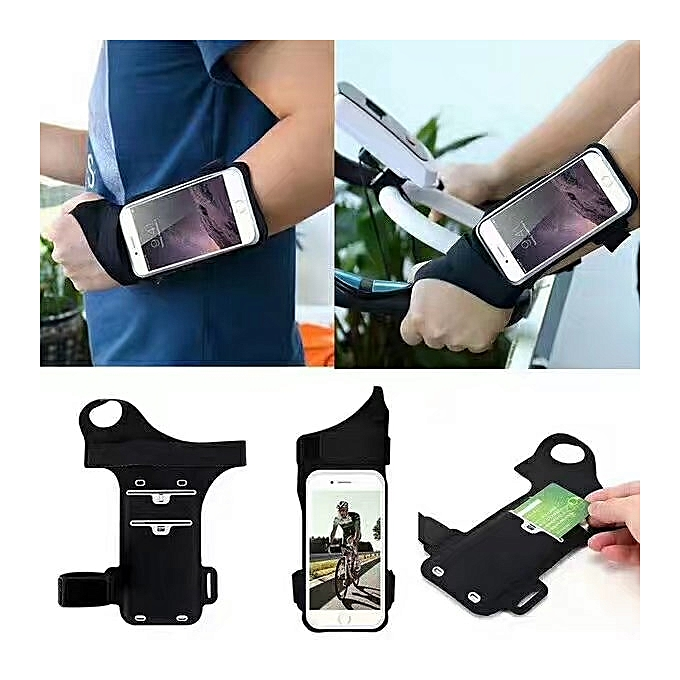 buy popular 1d697 ebe69 iPhone 7 Plus 6 Plus Touch Screen Forearm Band Wristband, Running Armband  with Key ID Cash Holder for Cycling Jogging Exercise Sports for Phones from  ...