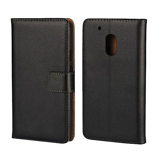af4acf463386 Buy Generic Genuine Leather Wallet Case Cover For Motorola Moto G4 ...