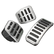 Stainless Steel MT Pedal Pads For VW Polo Jetta MK4 Bora Golf MK4 3 Pcs Of Set