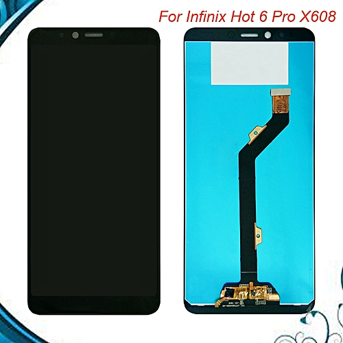 """""""YUETHOUGHT""""For Infinix Hot 6 Pro X608 LCD Display+Touch Screen Digitizer  Assembly"""