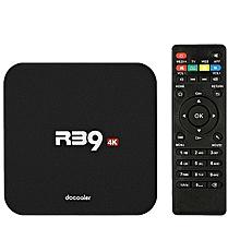 Docooler R39 Smart Android 8.1 TV Box RK3229 Quad Core UHD 4K 2GB / 16GB WiFi H.265 HD Media Player AU Plug