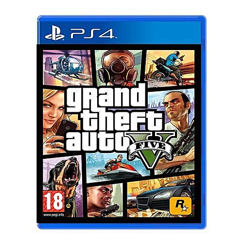 PS4 - Grand Theft Auto 5 (GTA5)