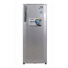 BRS 230 - 200L - Single Door Refrigerator- Floral Silver