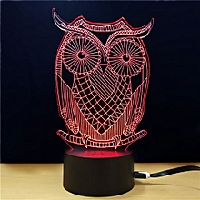 TD285 Creative Animal 4D LED Lamp - Colorful