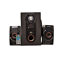 RS269 2.1CH HI-FI Home Theatre System - Black & Orange.