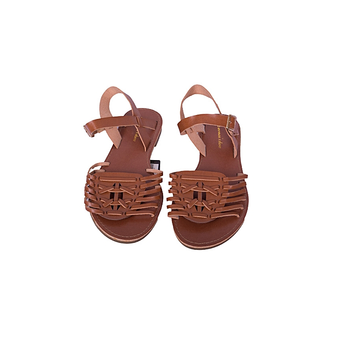 81a73ea3e621 JB Women Shoes Cute Strap Summer Ladies Sandals- Brown   Best Price ...