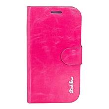 Tecno H5 Flip Case - Pink
