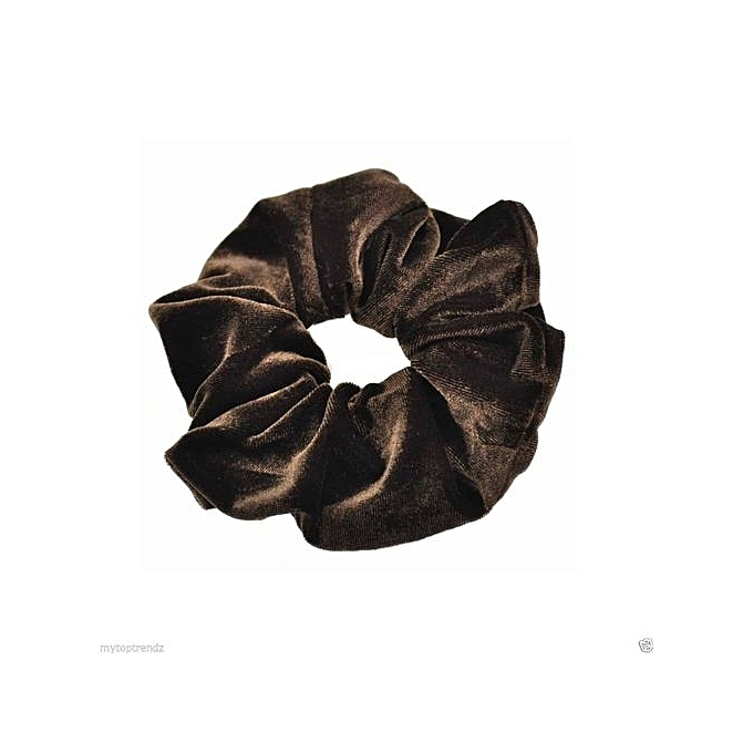 Fohting 10PC Velvet Ponytail Holder Hair Scrunchies Hair Ties Donut Maker  Hairbands CO -Coffee 6e0aeb5b69b
