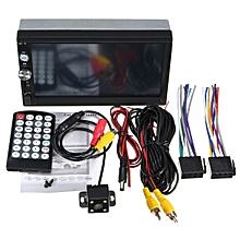 7'' Autoradio HD Touch Screen 2Din FM AUX MP5 Bluetooth USB TF +Post Camera Auto