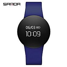 SANDA Smart Wristband Heart Rate Monitor Smart Bracelet Watch Men Women Sport Fitness Tracker Bluetooth band For Android IOS c1p