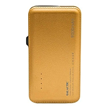 9000mAh Real Capacity Powerbank (GOLD).