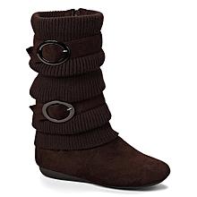Brown Bank Boot