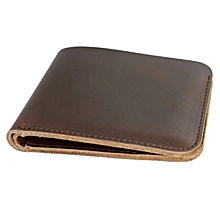 Men's Wallet Simple Leather Style Hand Made Vintage Personalized Name Men&#