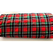 Kenyan Flag Colours Maasai shuka blanket - for Multipurpose use