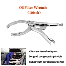 10inch Universal Car Vehicle Adjustable Oil Filter Wrench Plier Spanner Removal Tool
